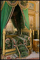 Emperor's room, Fontainebleau Palace. France ( color)