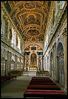 Chapel of the Trinity, palace of Fontainebleau. France ( color)