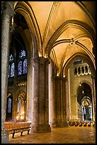 Transept, Cathedrale Notre-Dame de Chartres. France (color)