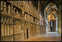 Sanctuary, Cathedrale Notre-Dame de Chartres. France