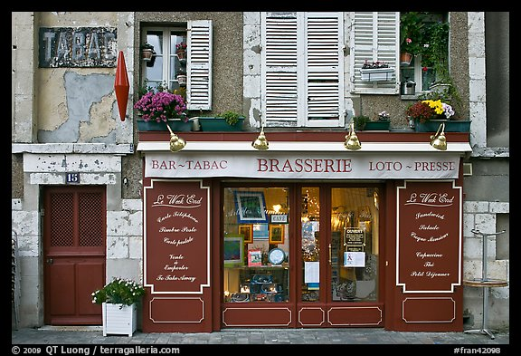 Brasserie, Chartres. France (color)