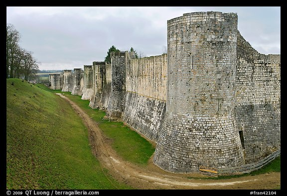 Provins France  city photo : Picture/Photo: Ramparts, Provins. France