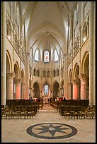 Mass, Saint Quiriace Collegiate Church, Provins. France