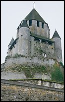 Caesar's Tower, Provins. France (color)