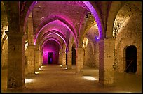 Underground gallery, Provins. France ( color)