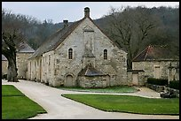 Cistercian Abbey of Fontenay. Burgundy, France
