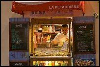Street food vendor, Montmartre. Paris, France