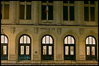 Main entrance of Sorbonne University. Quartier Latin, Paris, France