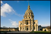 Hotel des Invalides, late afternoon. Paris, France (color)