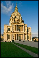 Eglise du Dome, Les Invalides. Paris, France (color)