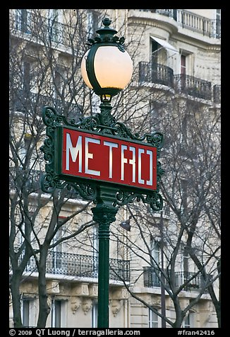 paris metro sign. Metro sign. Paris
