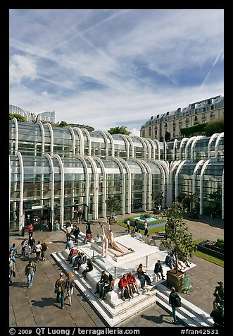 Forum des Halles shopping center. Paris, France