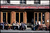 Cafe, Montmartre. Paris, France