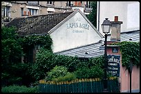 Au Lapin Agile, a famous historic cabaret, Montmartre. Paris, France ( color)