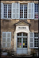 Mairie (town hall) of Vezelay. Burgundy, France