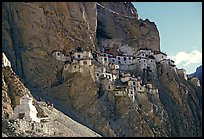 Phuktal gompa, Zanskar, Jammu and Kashmir. India (color)