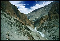 Tsarap River valley, Zanskar, Jammu and Kashmir. India (color)