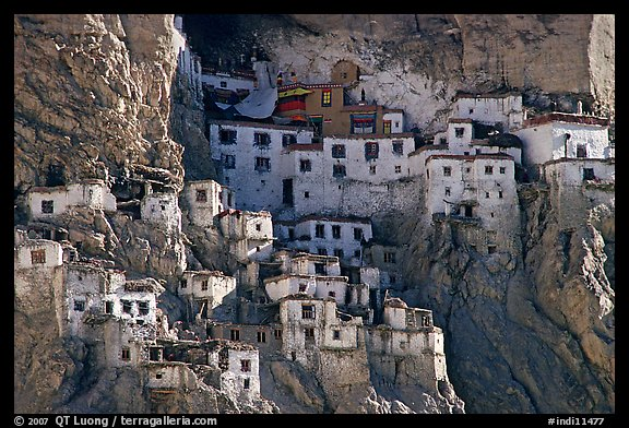 Phugtal gompa, Zanskar, Jammu and Kashmir. India