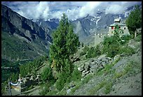 Monestary, Lahaul, Himachal Pradesh. India ( color)