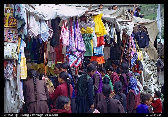 Keylong Market