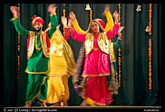 Performances at Dances of India. New Delhi, India