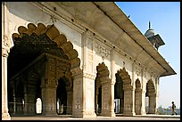 Hammans (baths), Red Fort. New Delhi, India (color)