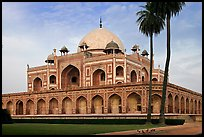 Main mausoleum, Humayun's tomb. New Delhi, India ( color)