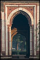 Alai Darweza gate. New Delhi, India (color)