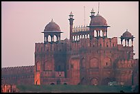 Lahore Gate at dawn. New Delhi, India ( color)
