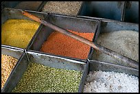 Close-up of grains, Sardar Market. Jodhpur, Rajasthan, India ( color)