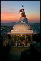Chamunda Devi temple, Mehrangarh Fort. Jodhpur, Rajasthan, India (color)