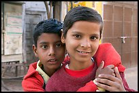 Boys. Jodhpur, Rajasthan, India (color)