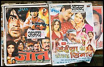 Bollywood movies billboards. Mumbai, Maharashtra, India ( color)