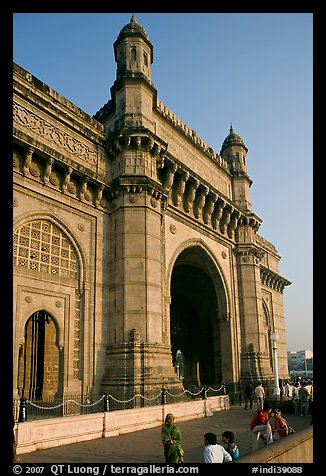 Gateway of India, early morning. Mumbai, Maharashtra, India