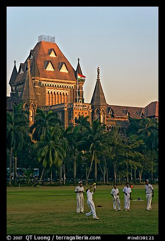 Cricket players and high court. Mumbai, Maharashtra, India