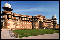 Jehangiri Palace, Agra Fort. Agra, Uttar Pradesh, India (color)