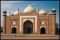 Taj Mahal mosque. Agra, Uttar Pradesh, India (color)