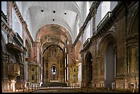Church of St Francis of Assisi interior, Old Goa. Goa, India (color)