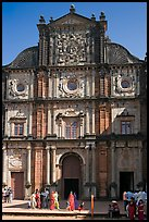 Basilica of Bom Jesus, Old Goa. Goa, India (color)
