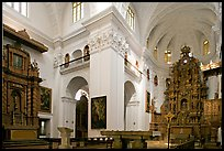 Church of St Cajetan interior, Old Goa. Goa, India
