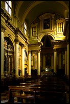 Church interior. Veneto, Italy