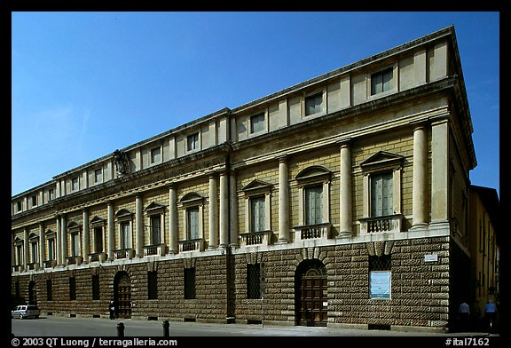 Palazzo Porto-Breganze, designed by Palladio and built by Scamozzi. Veneto, Italy (color)