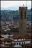 Bell tower, palazzo Vecchio. Florence, Tuscany, Italy ( color)