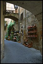 Old street and arches. Orvieto, Umbria ( color)