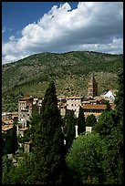The town. Tivoli, Lazio, Italy ( color)