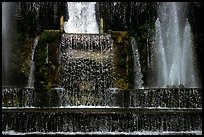 Fountain in the gardens of Villa d'Este. Tivoli, Lazio, Italy ( color)