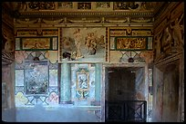 Mannerist frescoes in the Villa d'Este. Tivoli, Lazio, Italy ( color)