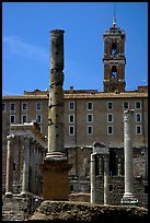 Roman Form and Palazzo Senatorio. Rome, Lazio, Italy ( color)