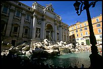 Trevi Fountain. Rome, Lazio, Italy (color)