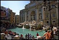Trevi Fountain. Rome, Lazio, Italy ( color)